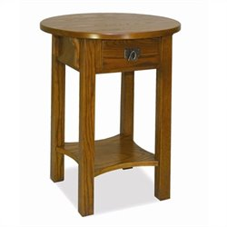 Leick Furniture Anyplace Side Table in Russet Finish