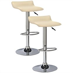 Wave Adjustable Stool Finish