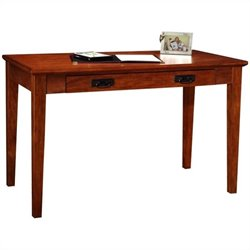 Leick Furniture Boulder Creek Mission Laptop-Writing Desk