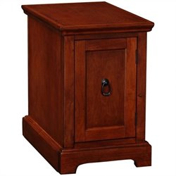 Leick Furniture Westwood Storage End Table-Printer Stand in Cherry