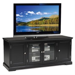 Leick Furniture Holliday TV Stand in Black