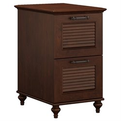 Kathy Ireland by Bush Volcano Dusk 2 Drawer File Cabinet