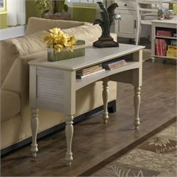 Kathy Ireland Office Volcano Dusk Sofa Table in Driftwood Dreams