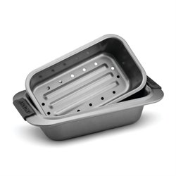 Anolon Advanced Bakeware 2 Piece Nonstick Loaf Pan Set in Gray