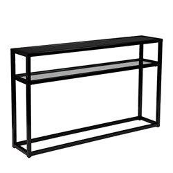Holly & Martin Baldrick Console Table in Soft Black