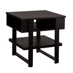 Holly & Martin Cloke End Table in Black