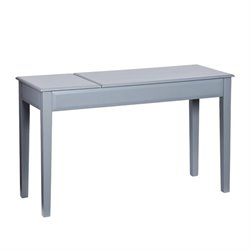 Holly & Martin Uphove Computer Desk in Cool Gray