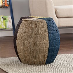 Holly & Martin Toco Storage End Table in Black
