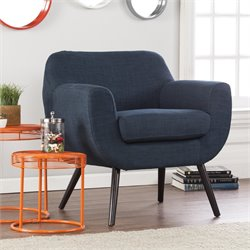 Holly & Martin Supra Chair in Navy and Black