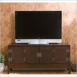 Holly & Martin Lockborne Media Cabinet in Rich Espresso