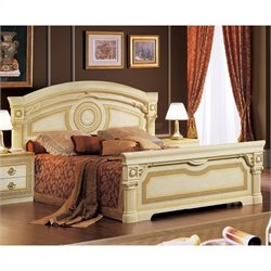 camelgroup Aida Bed in Ivory