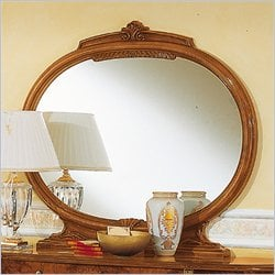 camelgroup Milady Mirror in Walnut