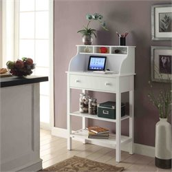 Convenience Concepts Designs2Go Compact Desk in White