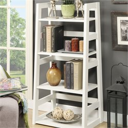 Convenience Concepts Designs2Go 4 Shelf Bookcase in White