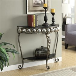Entryway Table in Black