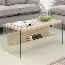 Coffee Table in Weathered White