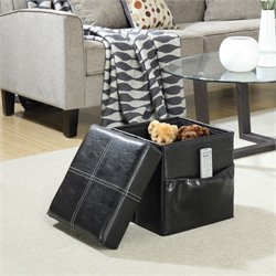 Collapsible Stool in Black