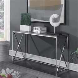 Console Table in Weathered Gray