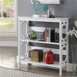 2 Shelf Bookcase in White