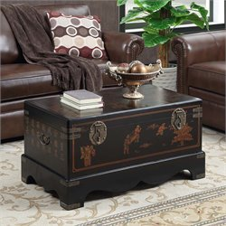 Storage Cfee Table in Black