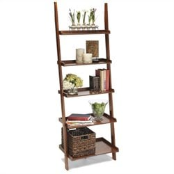 Ladder Bookshelf in Cherry