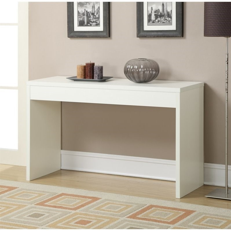 Wall Console in White