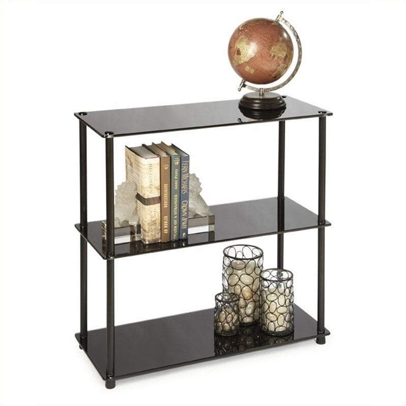 Bookcase In Black 157002b