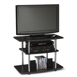 3-Tier TV Stand in Espresso
