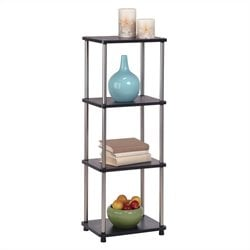 4-Tier Tower in Black