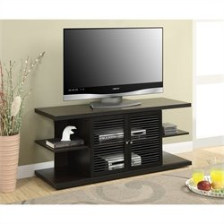 Convenience Concepts Designs2Go E. Hampton TV Stand - Espresso-Black