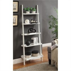 Bookshelf Ladder - White