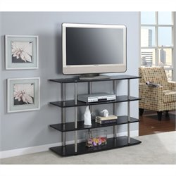 Convenience Concepts Designs2Go XL Highboy TV Stand in Black