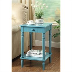 End Table - Blue