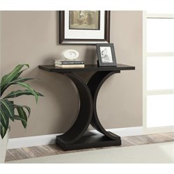 Infinity Console Table - Espresso