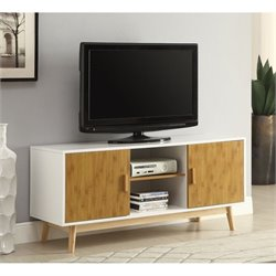 TV Stand in White