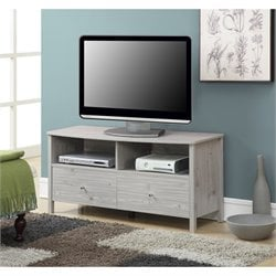 Convenience Concepts Designs2Go Westport TV Stand in Silver Oak