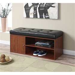 Liberty Storage Bench in Cherry