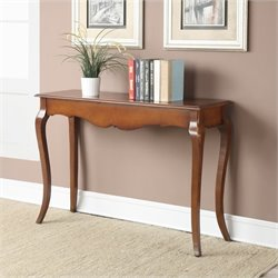 Console Table in Brown