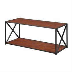 Coffee Table in Black and Cherry