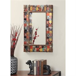 Rectangular Mirror in Multicolor