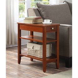3 Tier End Table in Cherry