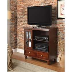 Highboy TV Stand in Espresso