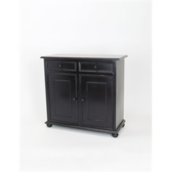 Wayborn Jayson Accent Chest in Antique Black