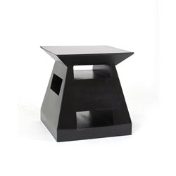Wayborn Fusion End Table in Black