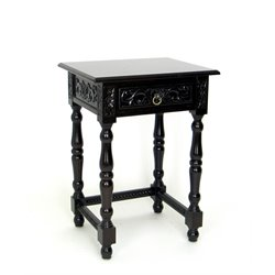 Wayborn End Table in Black