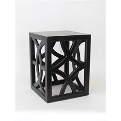 Wayborn Charleston Table in Black