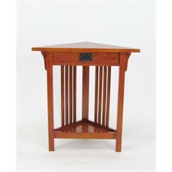 Wayborn Corner Table in Brown