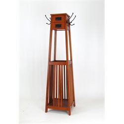 Wayborn Coat Rack in Brown