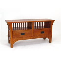 Wayborn Oak TV Stand in Brown