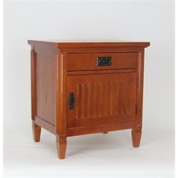 Wayborn Oak Nightstand in Brown